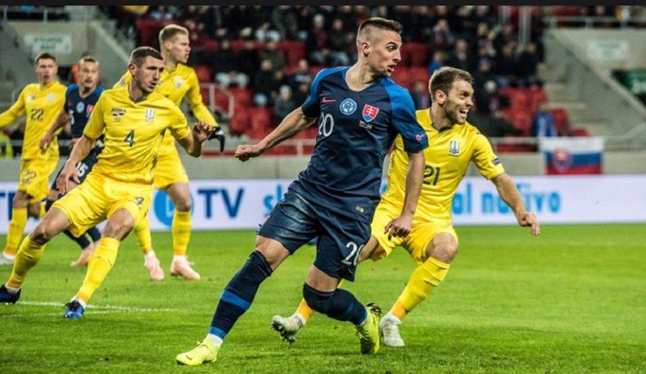 Украина позорно уступила Словакии: видео голов и обзор матча Лиги наций