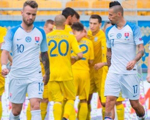 Словакия — Украина прогноз букмекеров на матч Лиги наций