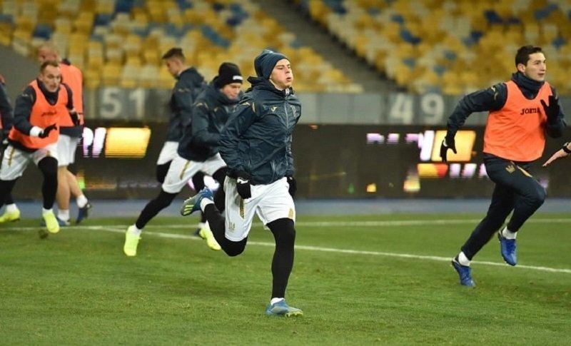 Словаччина – Україна: новачки української команди заспівали легендарну пісню