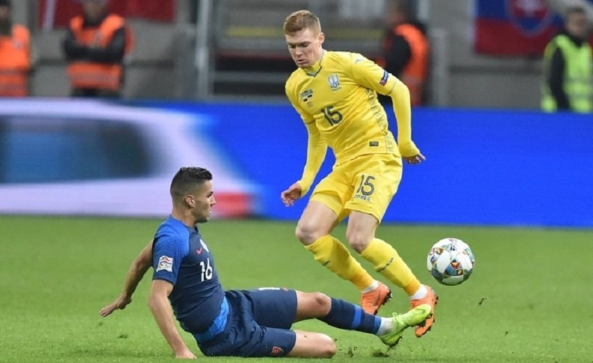 Словакия — Украина 4:1: хроника матча Лиги наций, видео голов