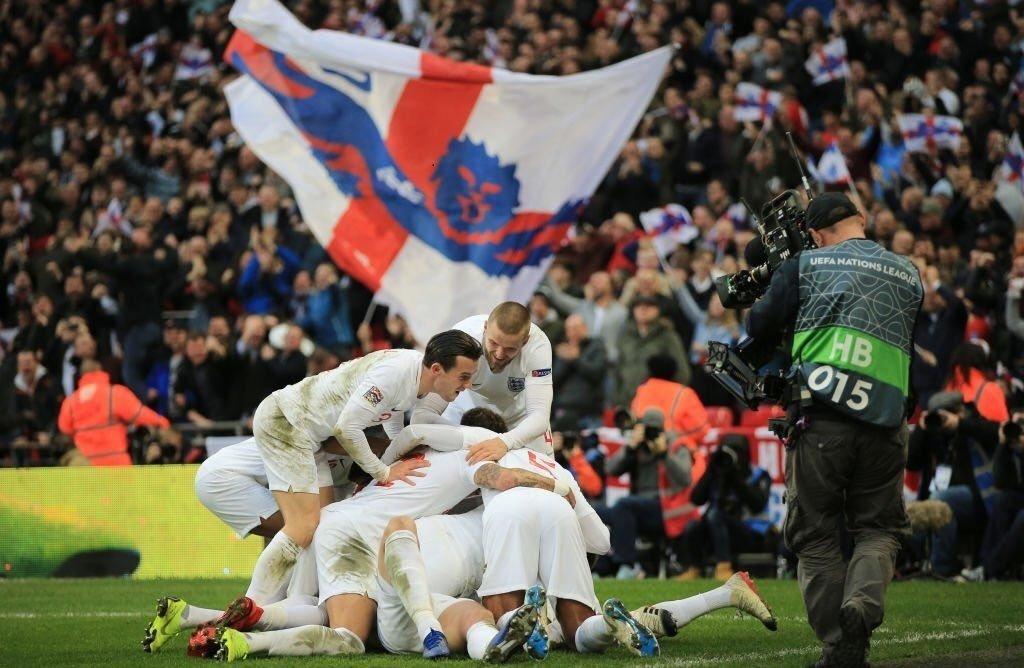 Лига наций: сенсации от Англии и Швейцарии, видео голов и обзор матчей 18 ноября