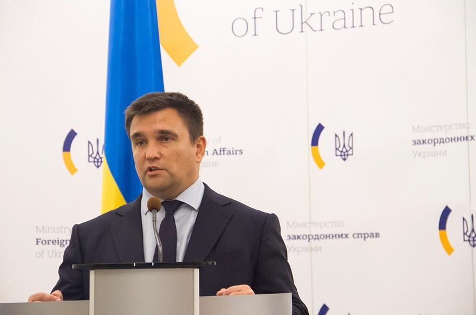 """Клімкін прокоментував майбутнє Донбасу, як """"російської колонії"""""""