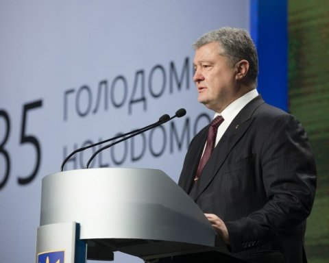 Годовщина Голодомора: Порошенко заявил о новых преступлениях Москвы