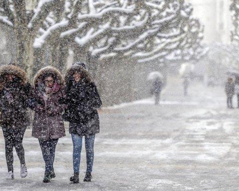 Погода в Украине: синоптики сообщили, когда в Киеве пойдет мокрый снег