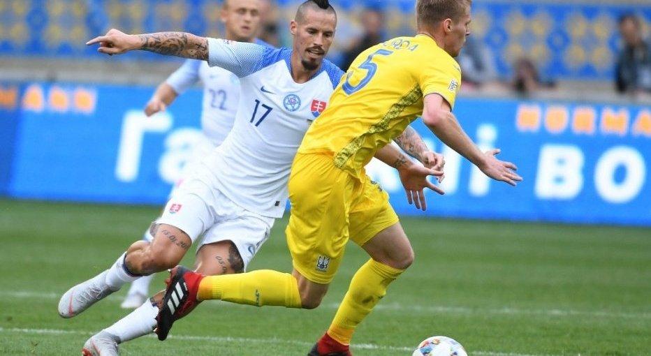 Словаччина – Україна 2:0: онлайн-трансляція матчу Ліги націй, відео голу