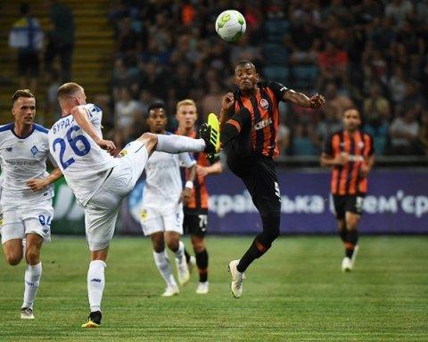 Шахтар – Динамо: де дивитися онлайн матч Прем'єр-ліги