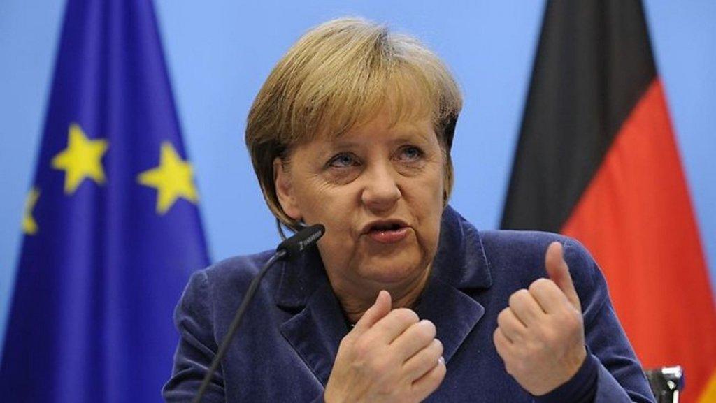 """З'явилося відео, як знову """"трусило"""" Ангелу Меркель"""