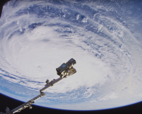 Опубликовано первое видео из космоса в формате 8K: невероятное зрелище