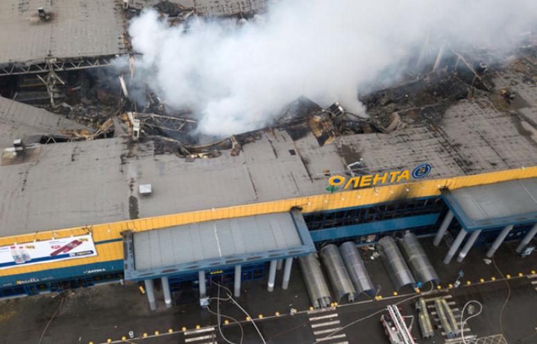 Крупный пожар в России: появились новые подробности и видео с высоты птичьего полета