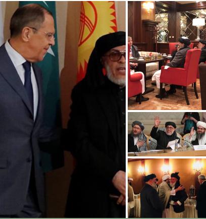 К путинскому министру в Москву приехали жестокие террористы: все попало на фото