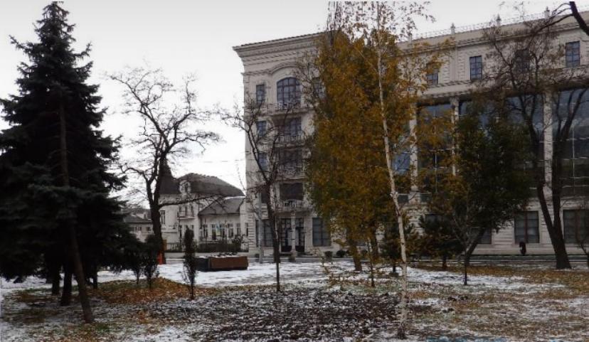 У Донецьку випав перший сніг: фото та відео