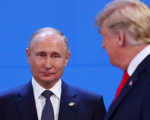 Без України не обійшлося: Трамп пояснив, чому не привітався з Путіним