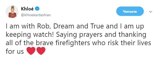 Берут только детей и животных: голливудские звезды эвакуируются из-за сильного пожара в Калифорнии