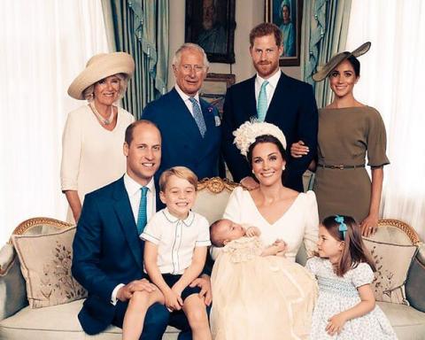 Кейт Міддлтон і принц Вільям з дітьми представили різдвяну листівку