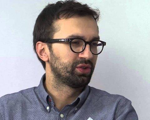 Нардеп Лещенко показав повне відео аварії, в яку потрапив
