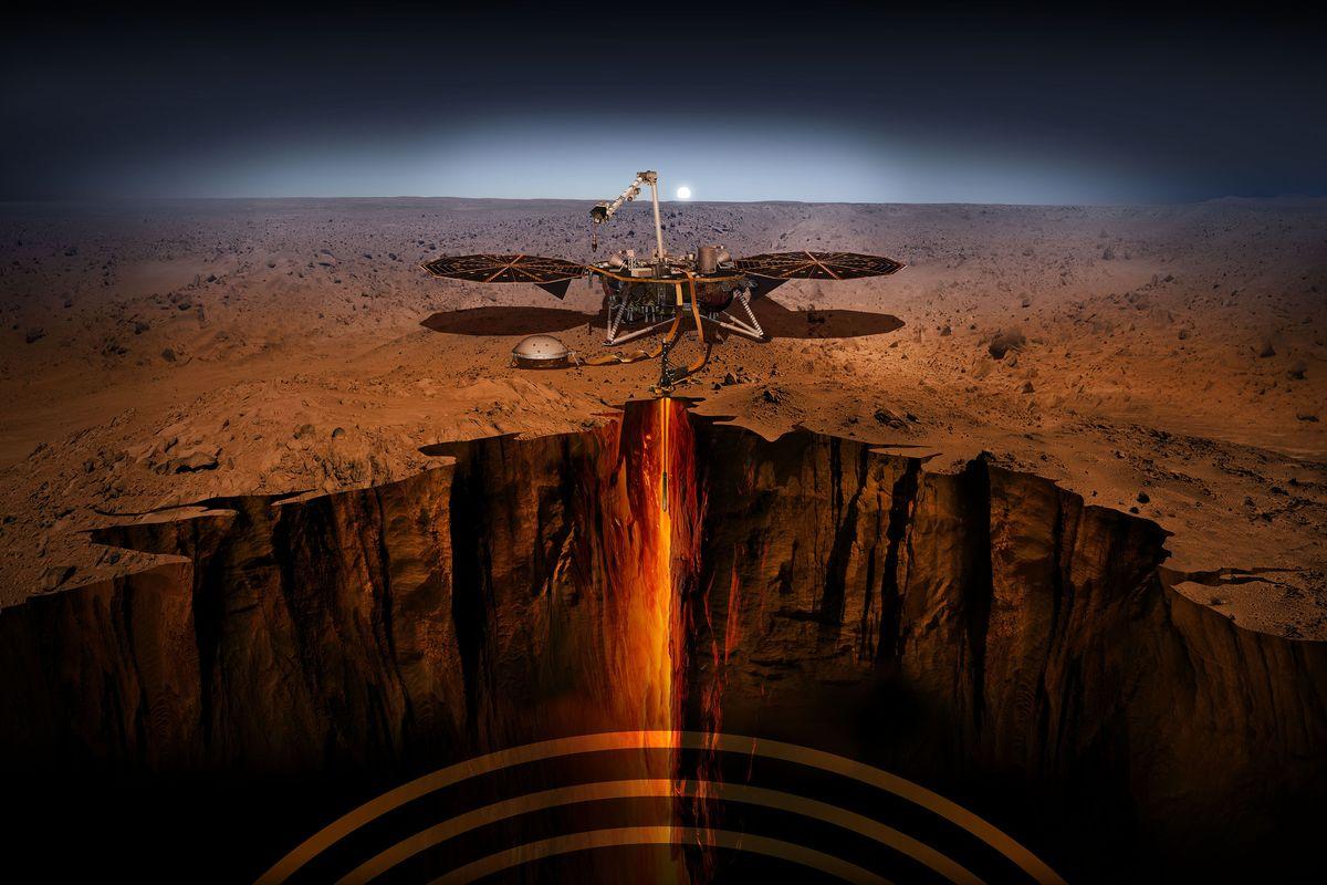 На Марсі успішно сів апарат із Землі: InSight здійснив космічний прорив