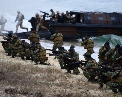 Найбільші навчання НАТО: фрегат протаранив нафтовий танкер у морі