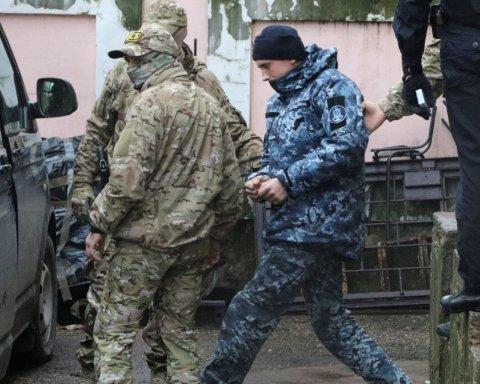 «Вибивати» свідчення з полонених моряків будуть у Москві: в'язнів терміново переводять