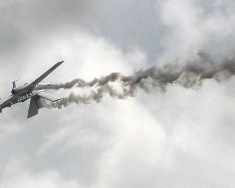 Над двумя военными складами сбили беспилотники: в Минобороны рассказали детали