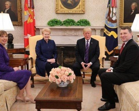 Проблемы с географией: Трамп оконфузился во время официальной встречи