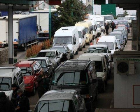 Законы о евробляхах: что происходит на украинской границе