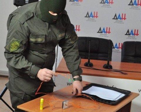 Боевики «ДНР» заявили о «попытке теракта» в день «выборов» и показали видео с «подозреваемым»