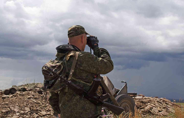 """Бойовики вирішили """"прогулятися"""" на Донбасі: відео того, що з ними зробили ЗСУ"""