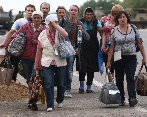 У беженцев с Донбасса начались серьезные проблемы в России