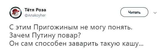 Таинственный «повар» Путина смутил сеть своим фото