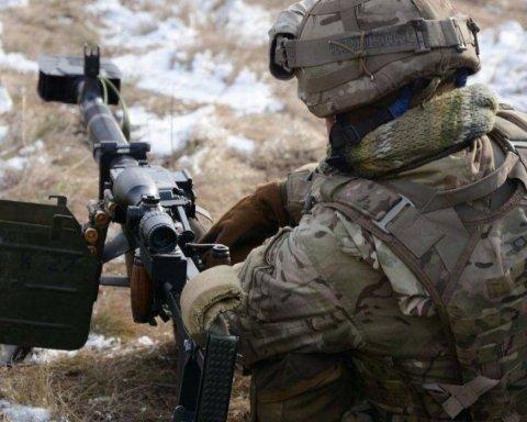 Війна на Донбасі: поранено двох бійців ЗСУ