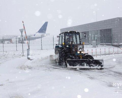 Стало известно, сколько дней в Киеве будет идти снег