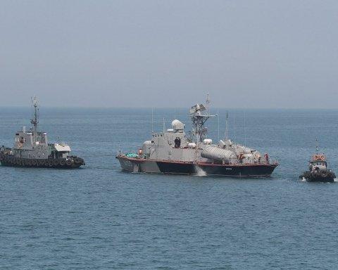 Сутичка біля Азовського моря: з'явилися нові фото з Керченської протоки