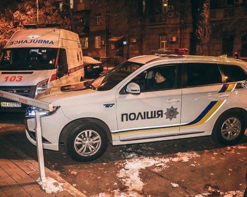 В центре Киева произошел взрыв, есть пострадавший: фото