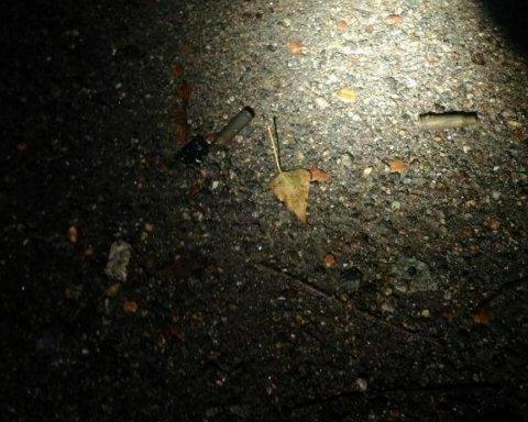 У Дніпрі розстріляли автомобіль прокурора: фото з місця НП