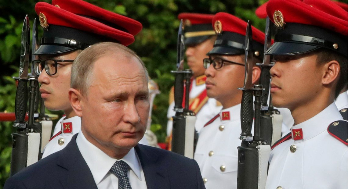 Дзвін Путіна: президента Росії поставили в дуже незручне становище