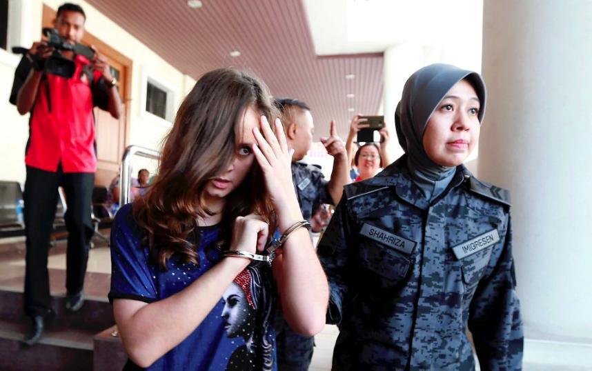 Українку довічно ув'язнили в Малайзії: подробиці