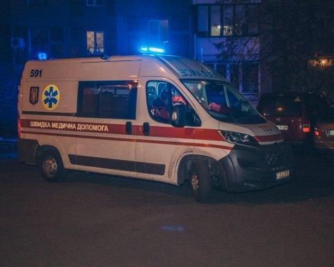 В Киеве молодая мама совершила суицид: фото и видео с места трагедии