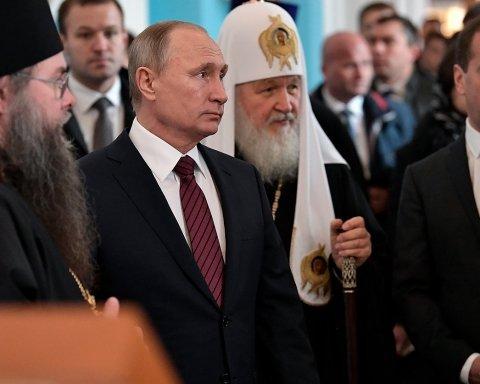 Томос для Украины: из Путина изгоняют бесов