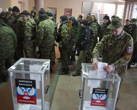 """Бойовики """"ДНР"""" почали незаконні """"вибори"""": з'явилися перші фото"""