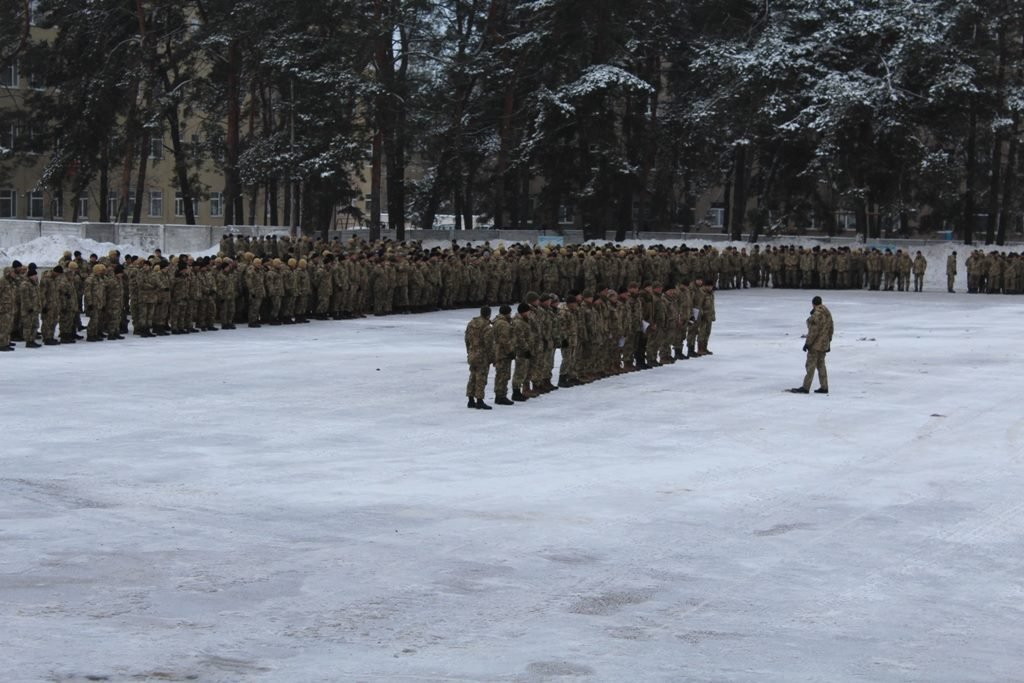 Воєнний стан в Україні: як проходять збори резерву першої черги