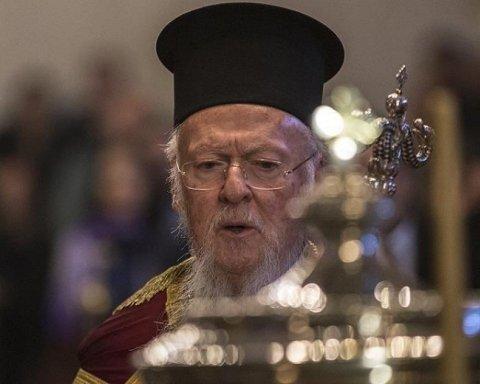 На Об'єднавчий собор приїхав патріарх Варфоломій: подробиці його несподіваного візиту