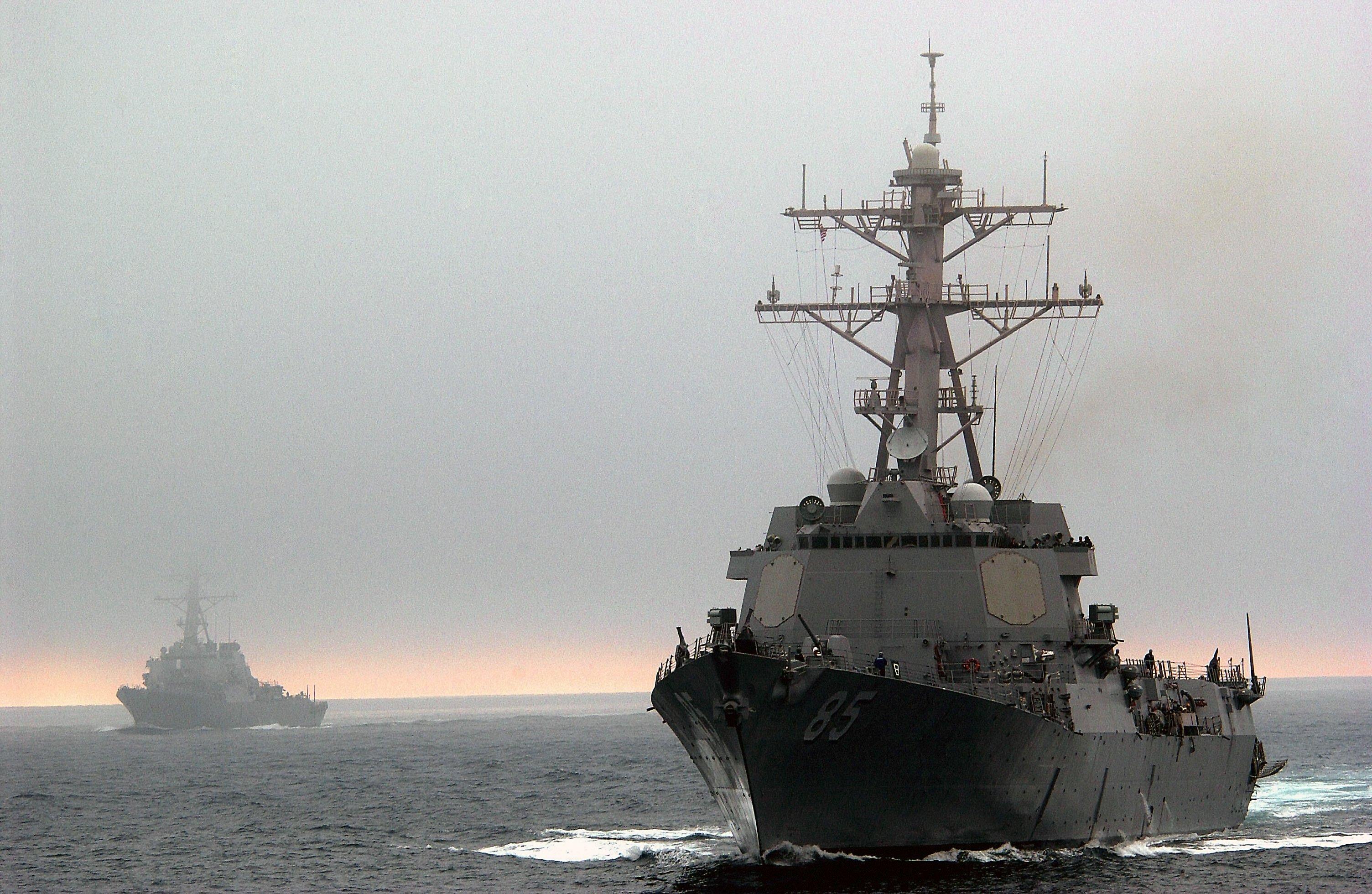 США кинули Росії військовий виклик у морі