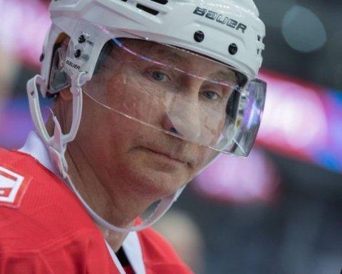 Путин стал хоккеистом и попал на видео: в сети жестко посмеялись