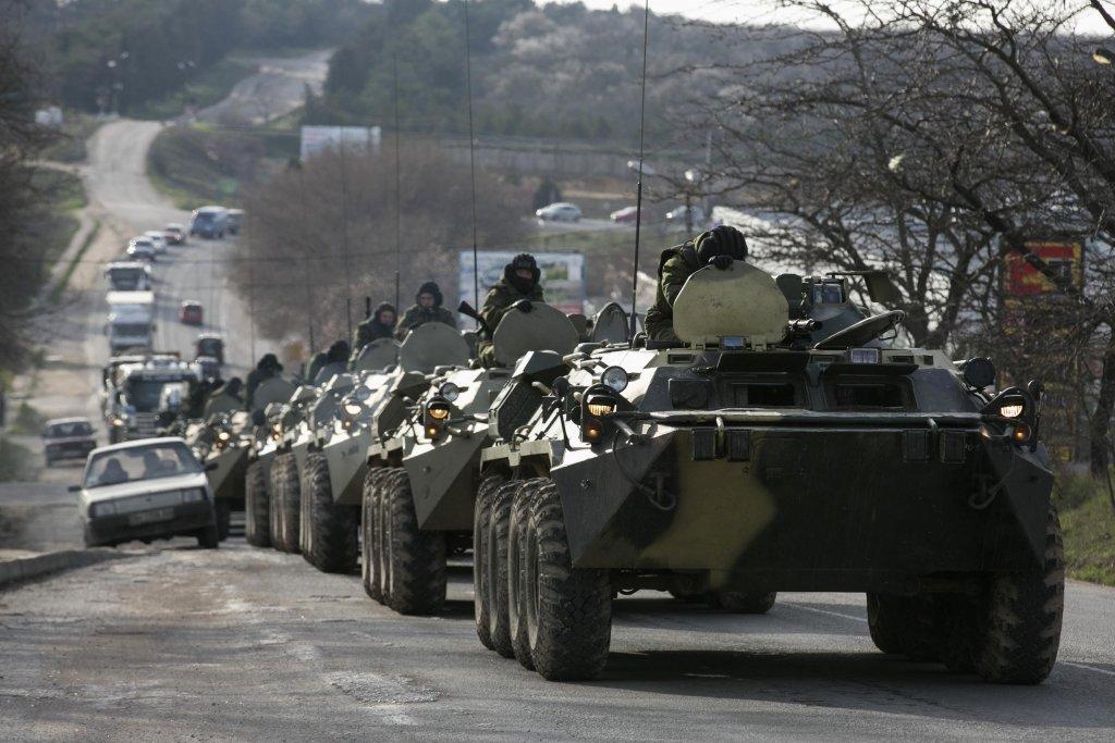 СБУ предупреждает о возможном вторжении России из Крыма