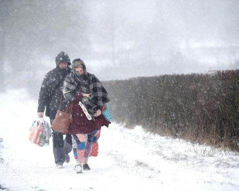 Погода на завтра: синоптики розповіли, де в Україні будуть сніг та дощ