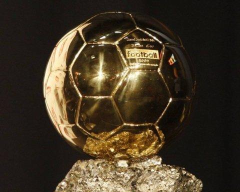 Золотий м'яч-2018: названо найкращого футболіста року
