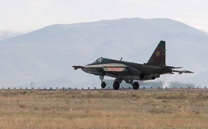 Над російською військовою базою зник штурмовик СУ-25: перші подробиці