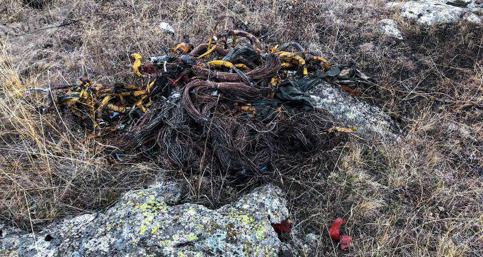 Опубліковано фото з місця падіння військового літака у Вірменії