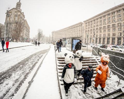 Київ засипле снігом: синоптик розповіла, коли піде негода