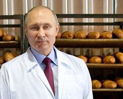 Хлеба не надо, если есть Путин: в сети показали забавное фото из России